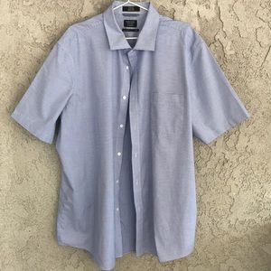 Nordstrom Shirts - A men's classic fit shirt with blue and white